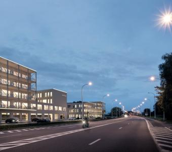 Nieuwbouw kantoren project R. Plaza te Roeselare T8800-17100-NBW-B4.2